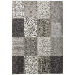 Vloerkleed Louis de Poortere Multi Black And White 8101
