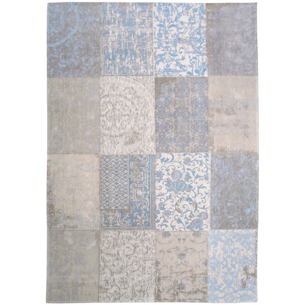 Vloerkleed Louis de Poortere Multi Gustavian Blue 8237