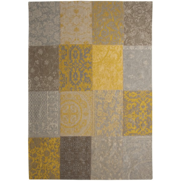 Vloerkleed Louis de Poortere Multi Yellow 8084