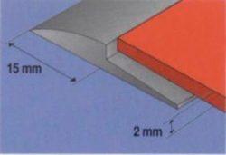 GERFLOR PVC profiel P769 Grijs