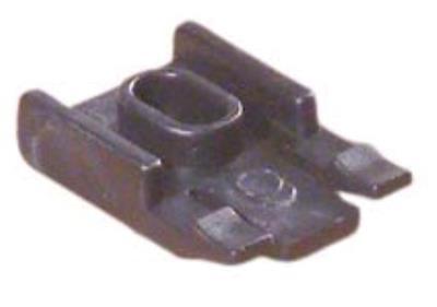 Gordijnrail Plafondsteun sleuf zwart Wepro