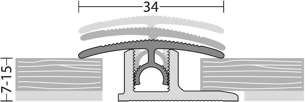 DILATATIEPROFIEL 34MM