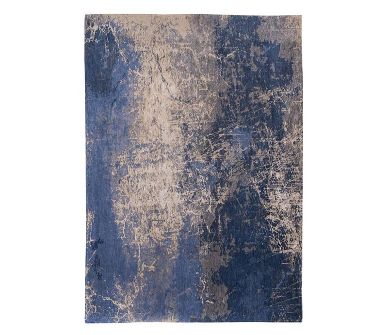 Vloerkleed Louis de Poortere Abyss Blue 8629